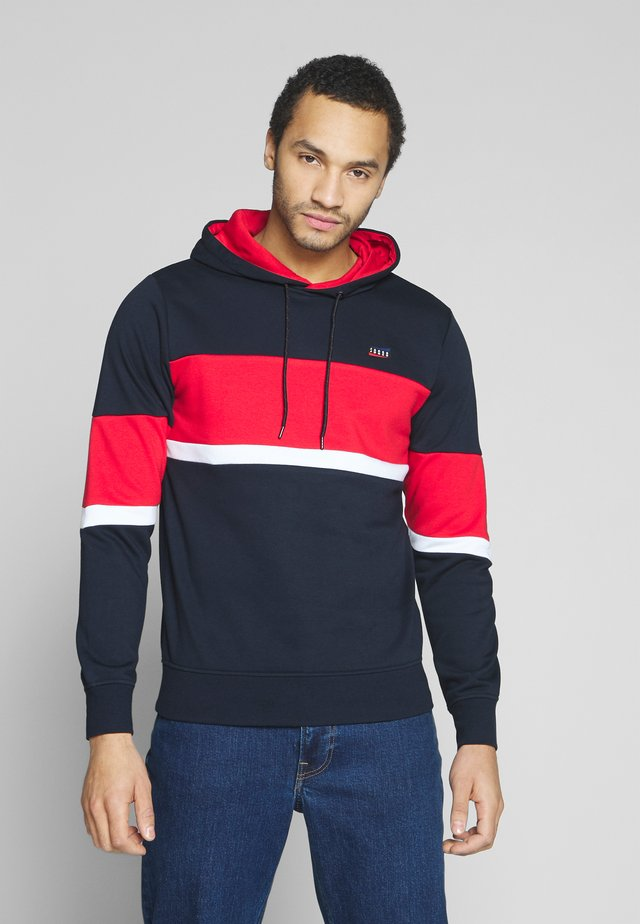 JCOMAINE HOOD - Jersey con capucha - chinese red