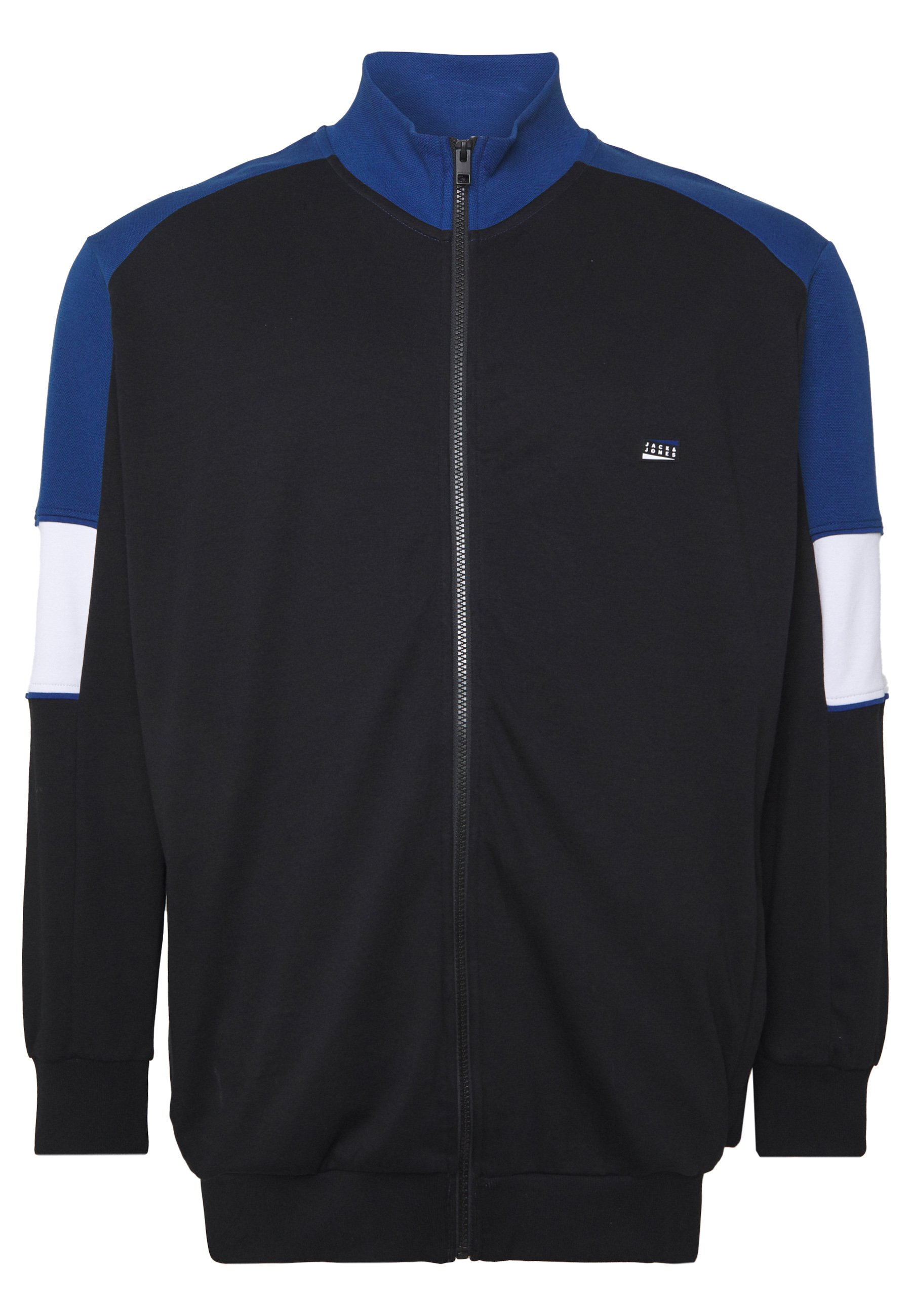 Jack & Jones Jcosprint Sweat Cardigan - Huvtröja Med Dragkedja Black