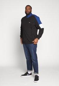 Jack & Jones - JCOSPRINT SWEAT CARDIGAN  - Zip-up hoodie - black - 1