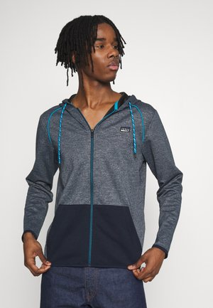 JCOCOLTS  ZIP HOOD CAMP - Zip-up hoodie - sky captain/melange