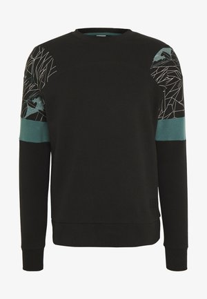 JCOGRIFFIN CREW NECK - Sweatshirt - black