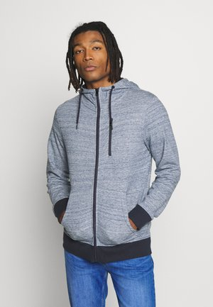 JCOBEST SWEAT HOODY - Zip-up hoodie - sky captain melange