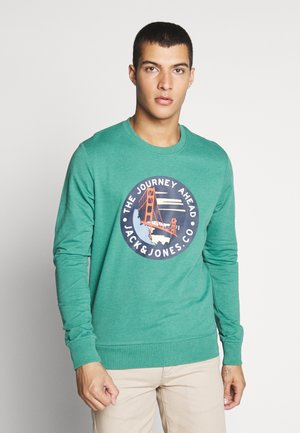 JORSOUVENIR CREW NECK - Sweatshirt - green