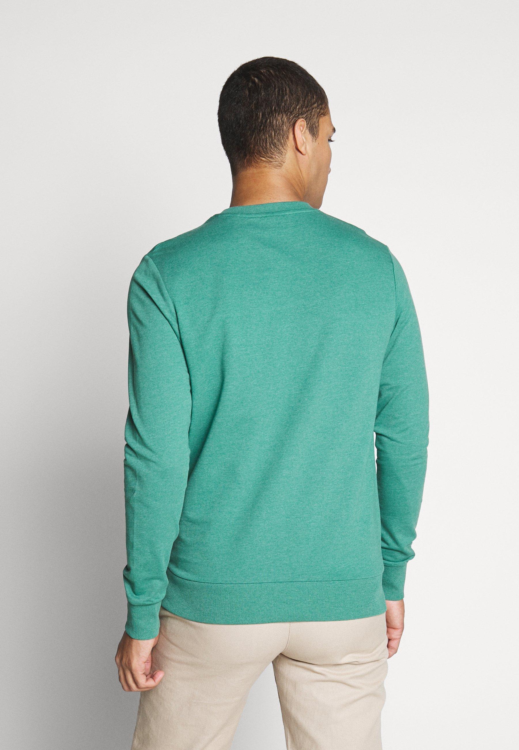 Jack & Jones JORSOUVENIR CREW NECK - Bluza - green
