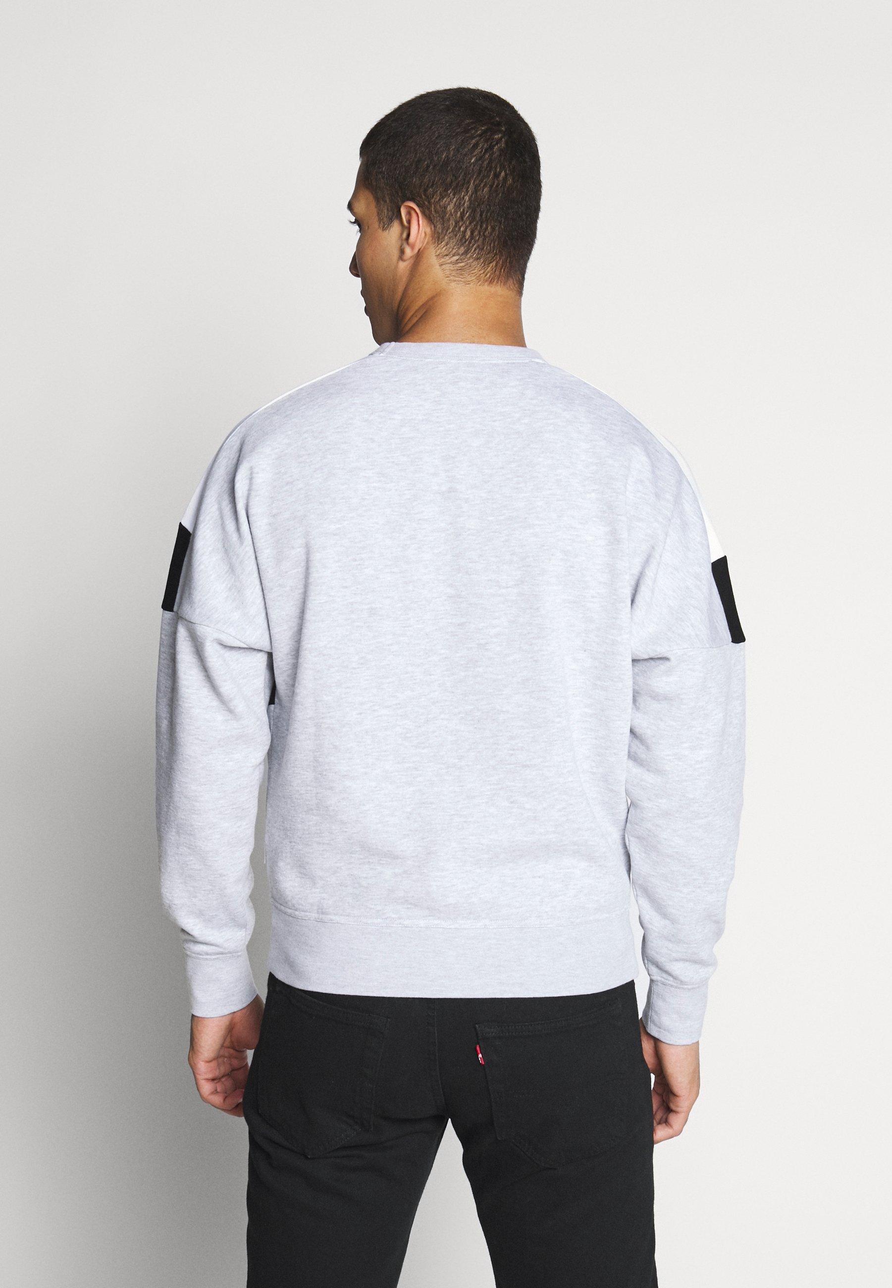 Jack & Jones Jcocheeta Crew Neck - Sweatshirt White Melange