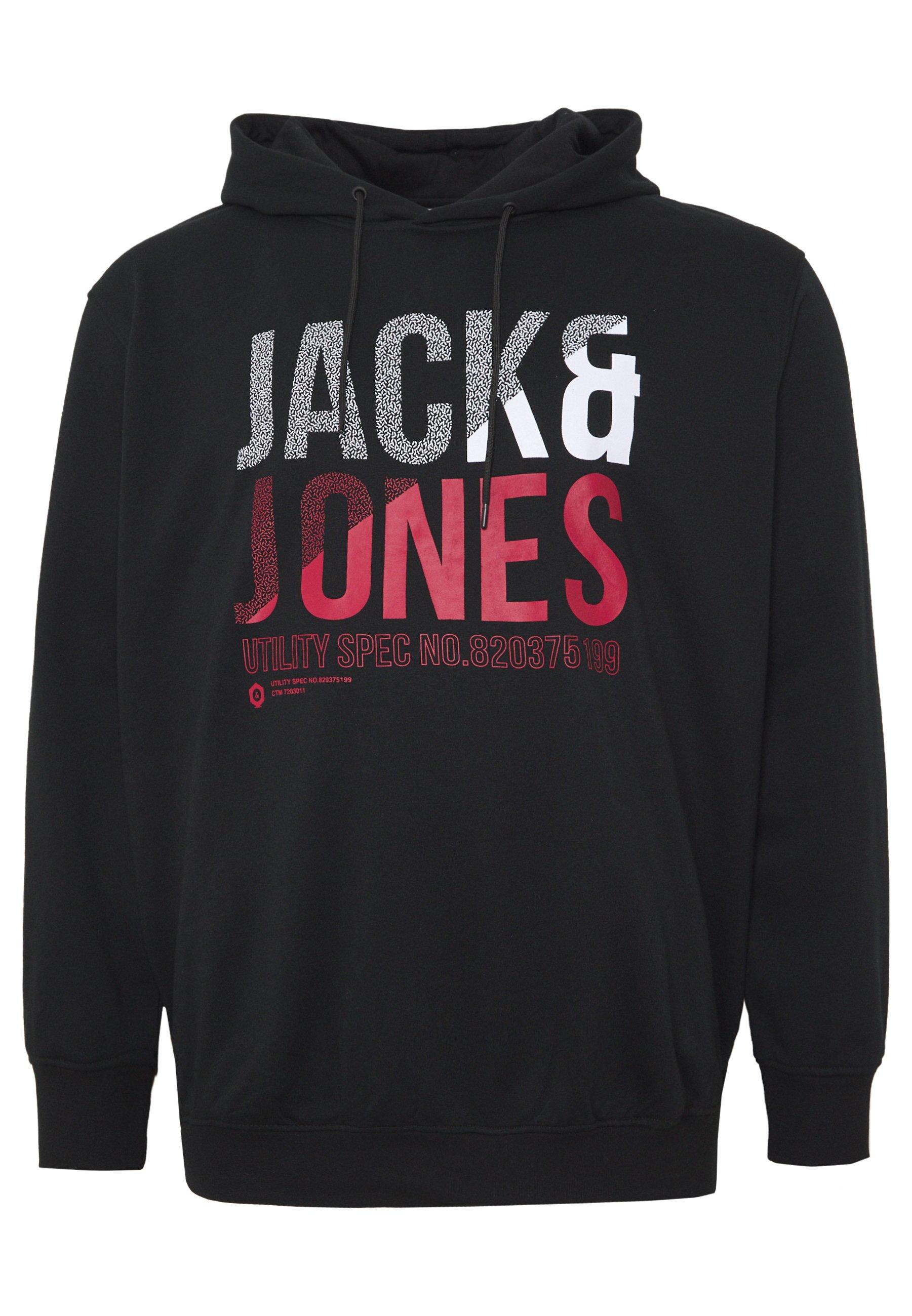 Jack & Jones Jcofoke Hood - Luvtröja Black