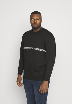 JCOTOFFEE CREW NECK - Sweatshirt - black