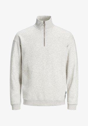 Sweatshirt - white melange