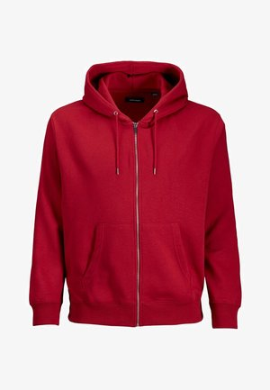 veste en sweat zippée - rio red