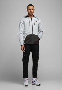 Jack & Jones - Zip-up hoodie - white melange - 1