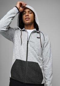 Jack & Jones - Zip-up hoodie - white melange - 3