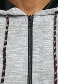 Jack & Jones - Zip-up hoodie - white melange - 4