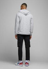 Jack & Jones - Zip-up hoodie - white melange - 2