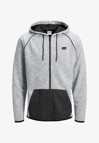 Jack & Jones - Zip-up hoodie - white melange - 6
