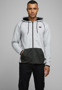 Jack & Jones - Zip-up hoodie - white melange - 0