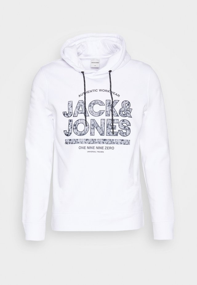 JCOFUND SWEAT HOOD - Luvtröja - white