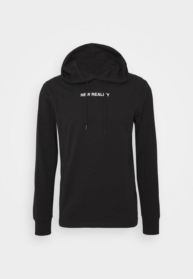 JCOSPLIT HOOD - Bluza z kapturem - black