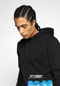 Jack & Jones - GRAVITY - Hoodie - black