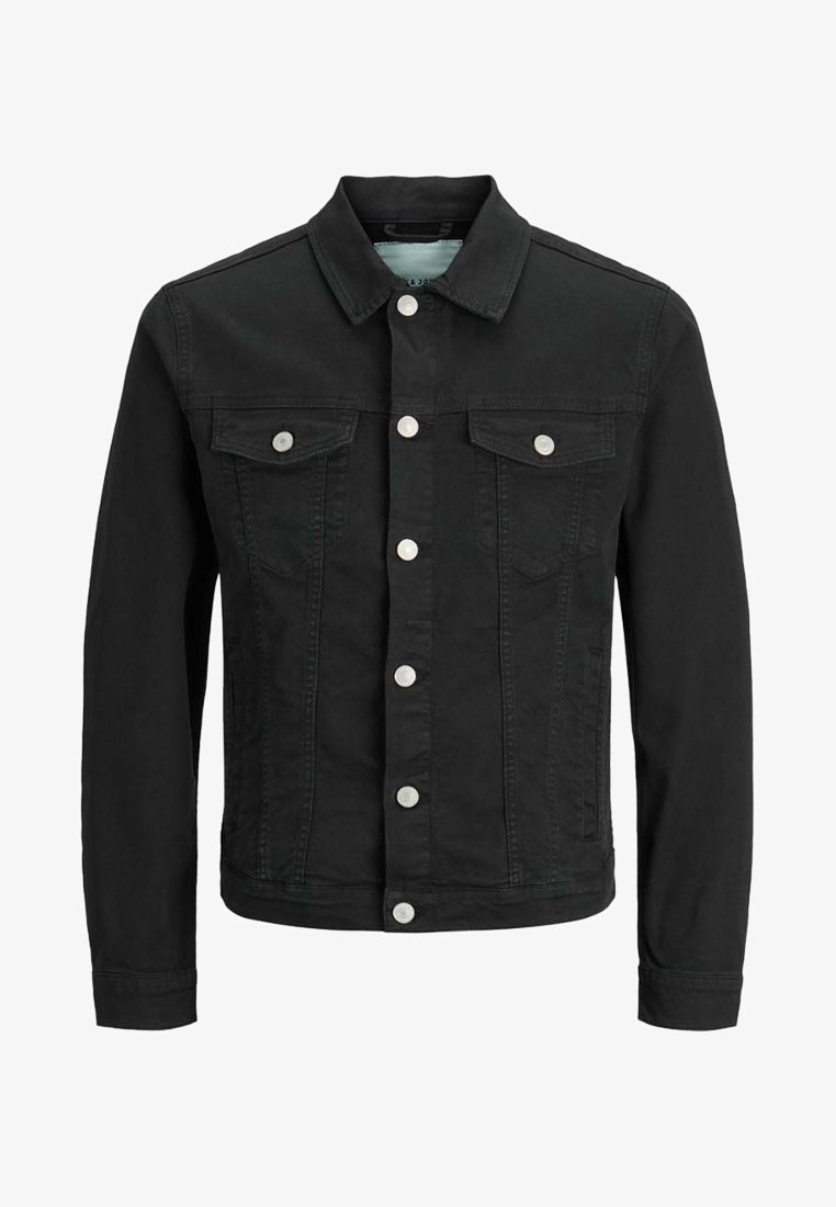 Jack & Jones - JJIALVIN - Denim jacket - black