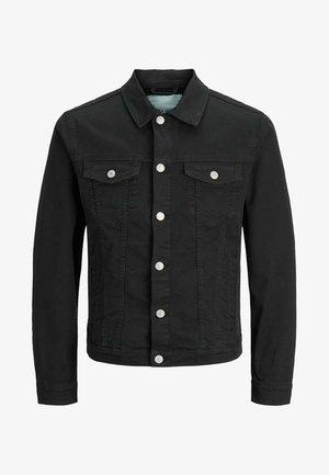 JJIALVIN - Denim jacket - black