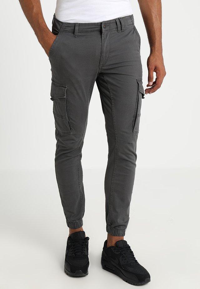JJIPAUL JJFLAKE  - Cargo trousers - asphalt