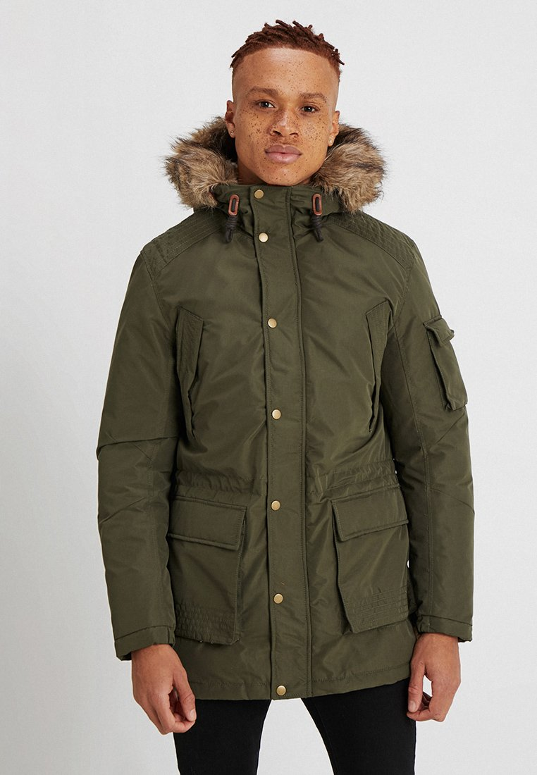 Jack & Jones - JORLATTE - Parka - forest night