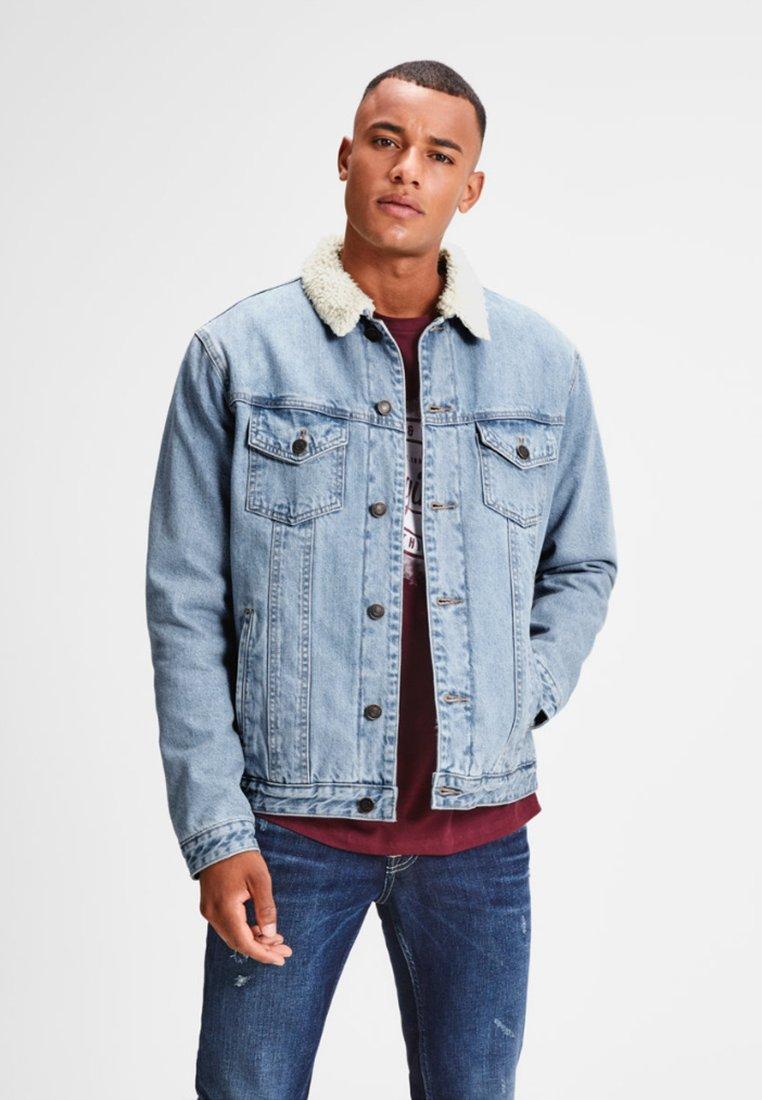 Jack & Jones - Denim jacket - blue denim