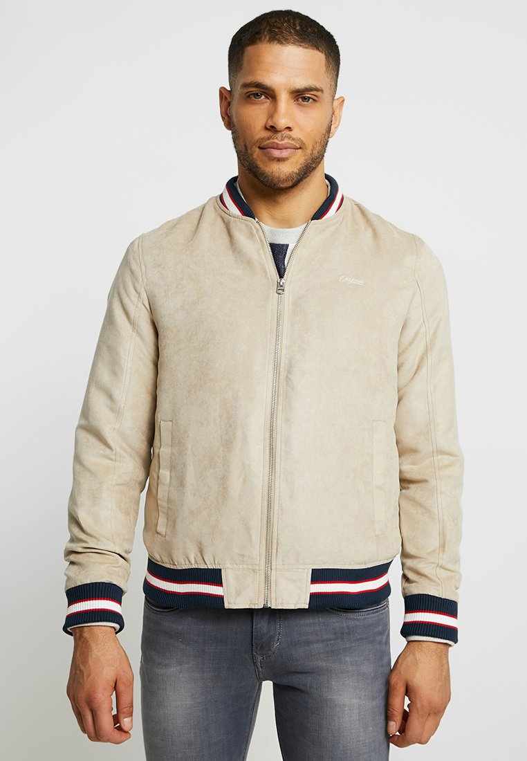 Jack & Jones - JORHALL JACKET - Bombejakke - safari