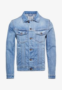 Jack & Jones - JJIALVIN JJJACKET - Džínová bunda - blue denim - 3