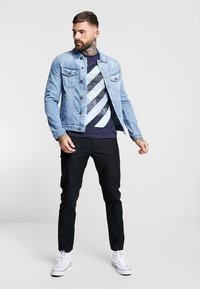 Jack & Jones - JJIALVIN JJJACKET - Džínová bunda - blue denim - 1