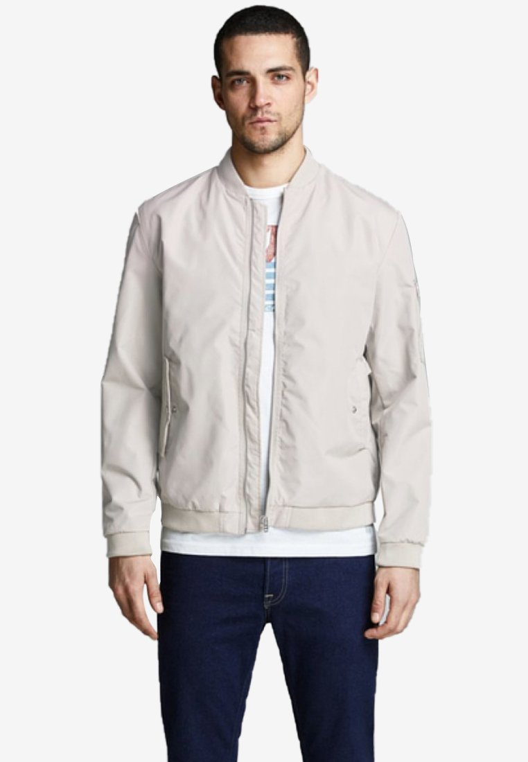 Jack & Jones - JJEDESERT - Bomber Jacket - beige