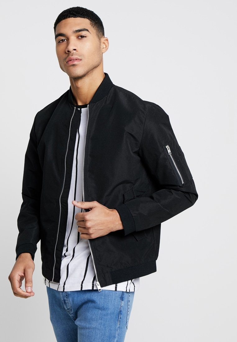 Jack & Jones - JJEDESERT - Bomber Jacket - black