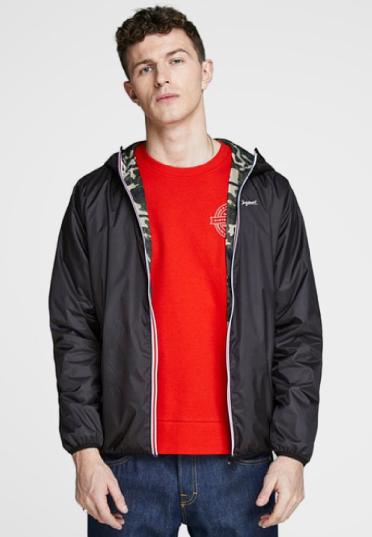 Jack & Jones - RÉVERSIBLE - Tunn jacka - black