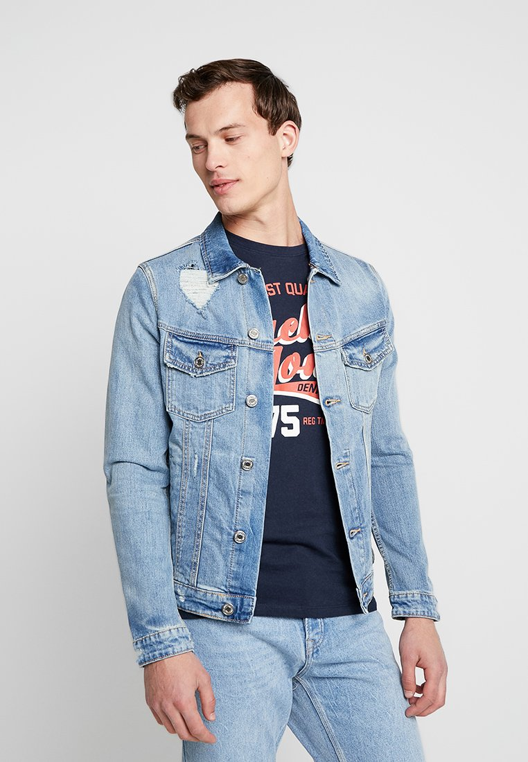Jack & Jones - JJIALVIN JJJACKET - Jeansjacke - blue denim