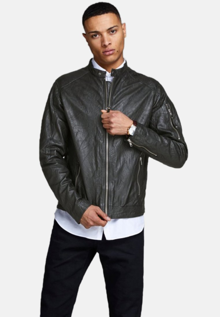 Jack & Jones - Skinnjacka - black