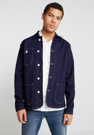 JJIWORKER JJJACKET - Spijkerjas - blue denim