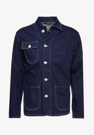 JJIWORKER JJJACKET - Denim jacket - blue denim