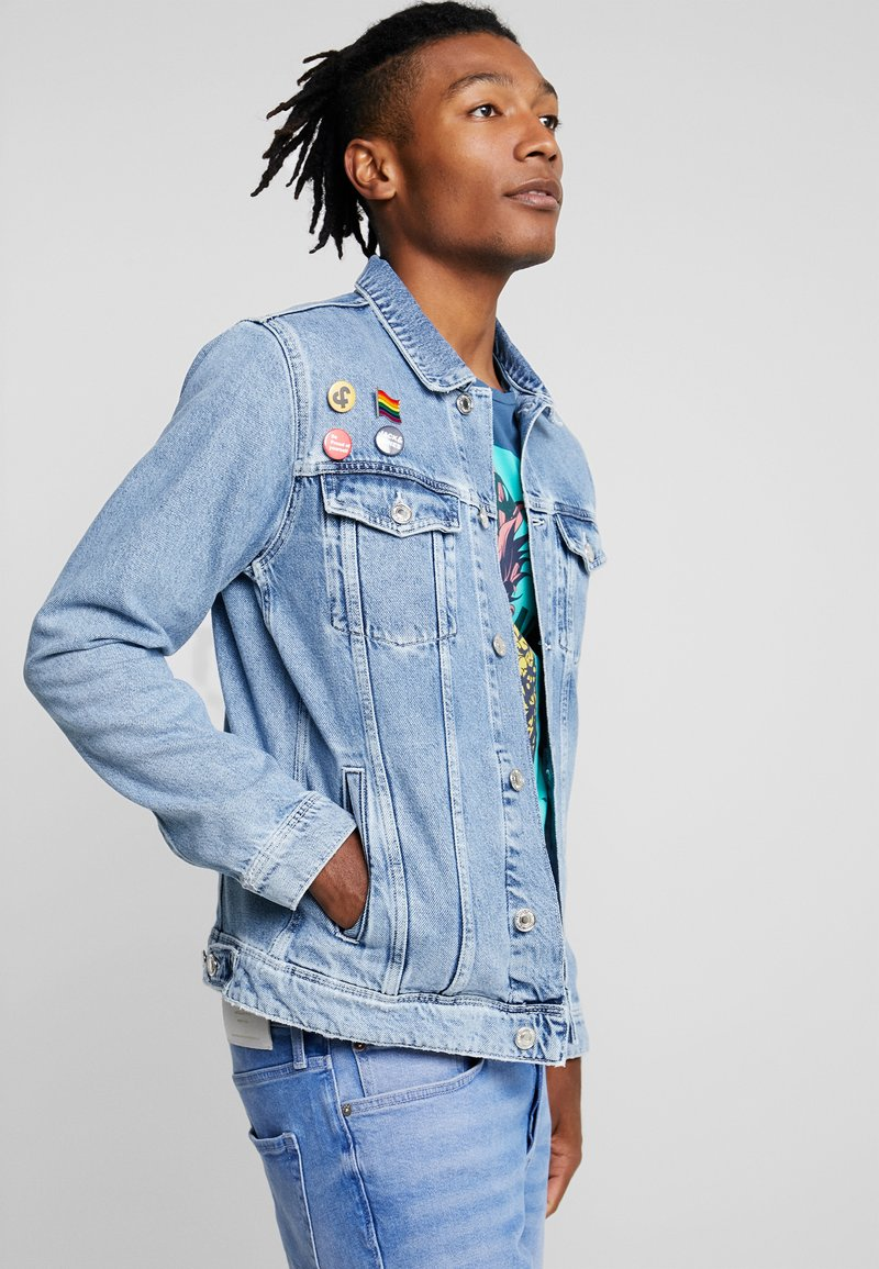 Jack & Jones - JJIJEAN JJJACKET  - Jeansjacka - blue denim