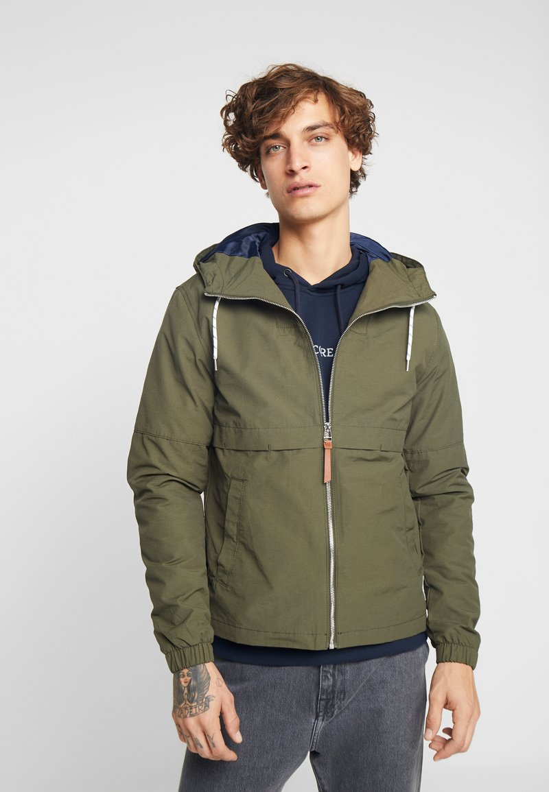 Jack & Jones - JORMURPHY LIGHT JACKET - Leichte Jacke - forest night
