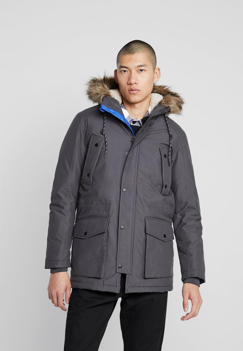 Jack & Jones - JOREXPLORE - Winterjas - asphalt/solid