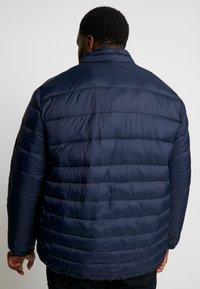 Jack & Jones - JJEBOMB PUFFER COLLAR - Winter jacket - navy blazer - 2