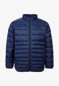 Jack & Jones - JJEBOMB PUFFER COLLAR - Winter jacket - navy blazer - 4