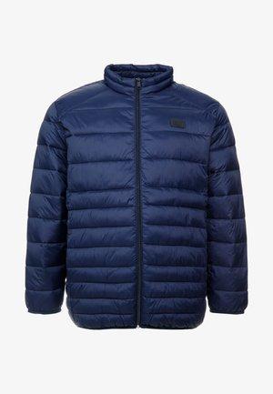JJEBOMB PUFFER COLLAR - Winterjas - navy blazer