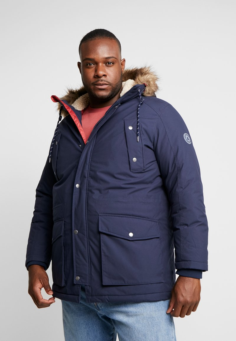 Jack & Jones - JOREXPLORE JACKET  - Parka - navy blazer