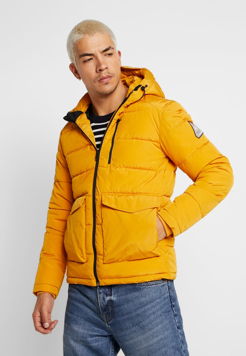 Jack & Jones - JORWAYNE PUFFER JACKET - Winterjacke - sunflower