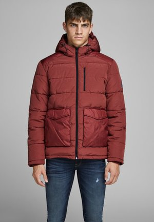 JORWAYNE PUFFER JACKET - Veste d'hiver - brick red