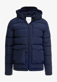 Jack & Jones - JORWAYNE PUFFER JACKET - Winter jacket - navy blazer - 4
