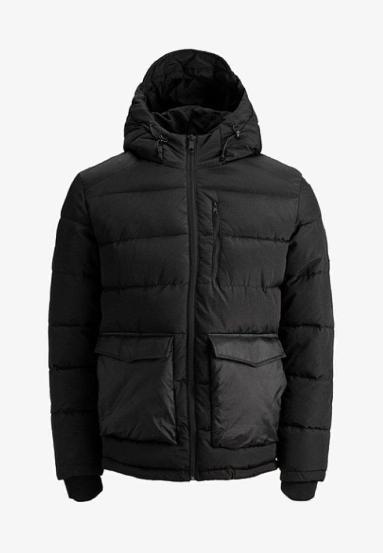Jack & Jones - JORWAYNE PUFFER JACKET - Winter jacket - black