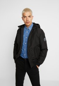 Jack & Jones - JCODOPE JACKET - Winterjas - black - 0