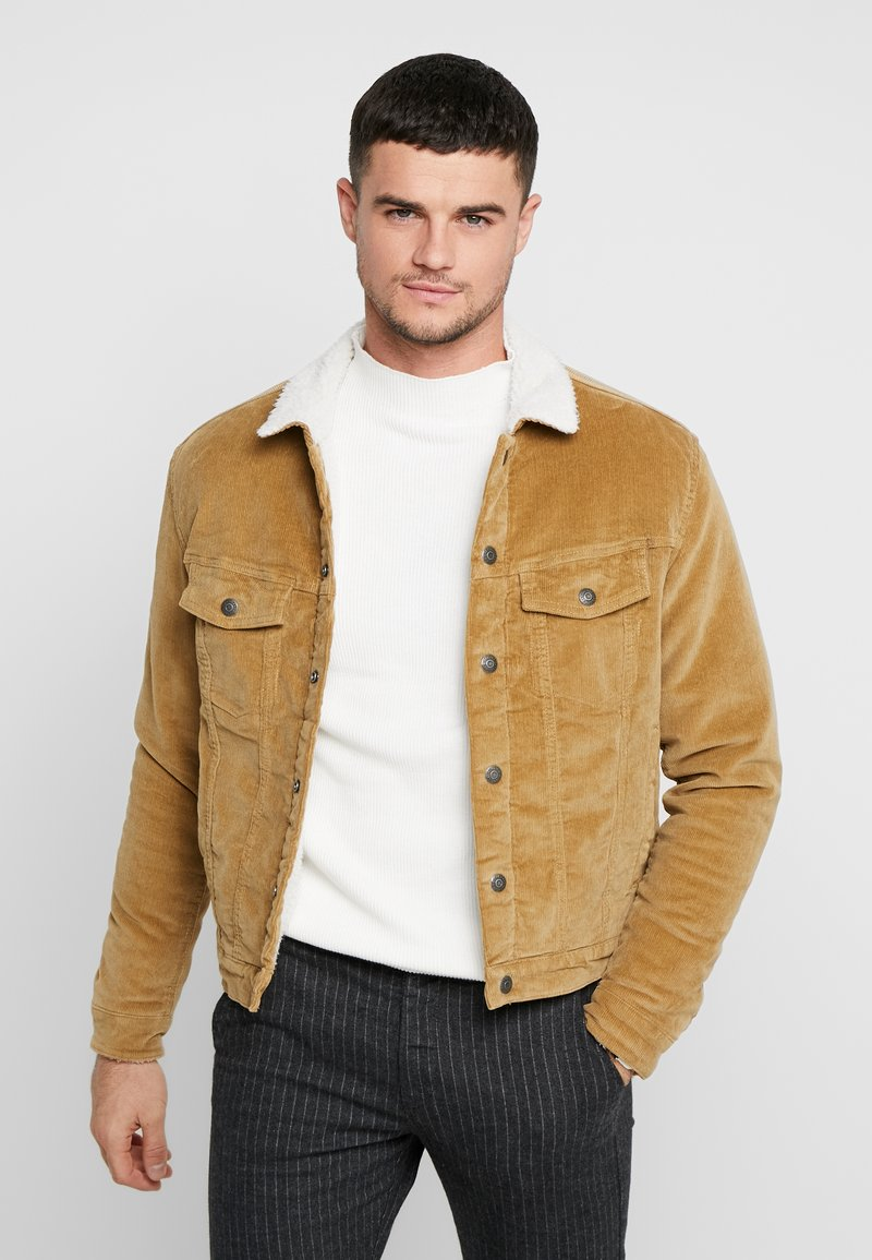 Jack & Jones - JJIALVIN JJSHERPA - Light jacket - kelp